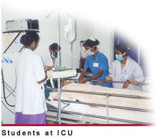 Students at ICU