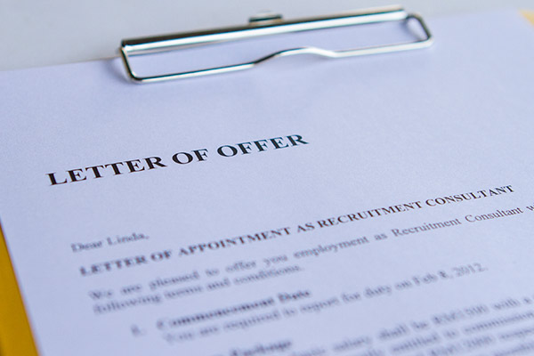 Difference between Conditional and Unconditional Offer Letter – Offer Letter
