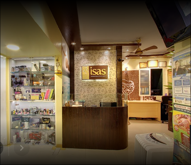 ISAS International Beauty School, Pune - Courses, Fees