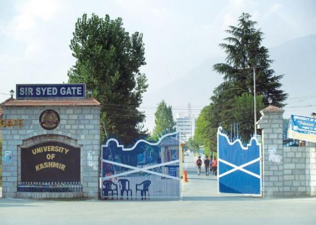 Kashmir University - KU, Srinagar M Sc  Courses, Fees & Fee
