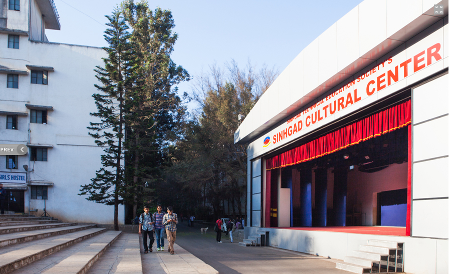 Sinhgad College of Engineering - SCOE, Pune - Courses, Fees