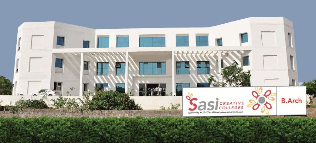 Sasi Creative Colleges Coimbatore Courses Fees Placements Ranking Admission 2020