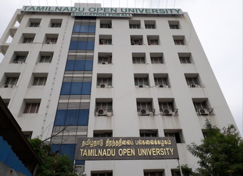 Tamil Nadu Open University - TNOU, Chennai - Courses, Fees