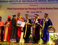 M S  in Ophthalmology by Jawaharlal Institute of