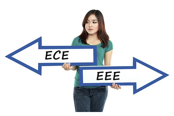 Comparison between Engineering branches: ECE and EEE