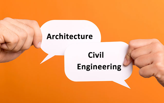 Comparison Between Civil Engineering And Architecture Course Shiksha Com