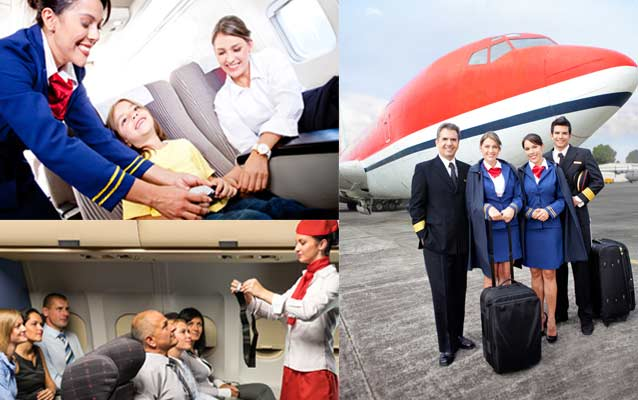 top air hostess training academies in india