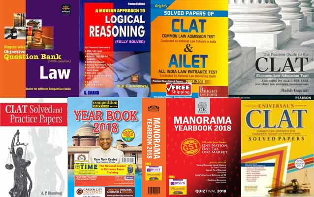 Important Books for CLAT 2019 Preparation