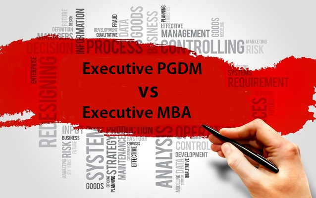 Whats Difference Between Executive >> Executive Pgdm Vs Executive Mba What Is The Difference Shiksha
