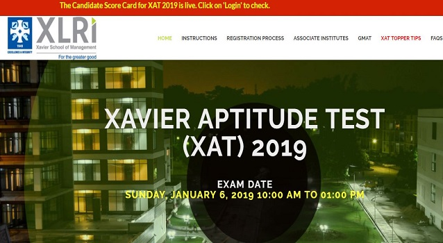 XAT 2019 Result (Out) – Download Score Card, Shortlist Status