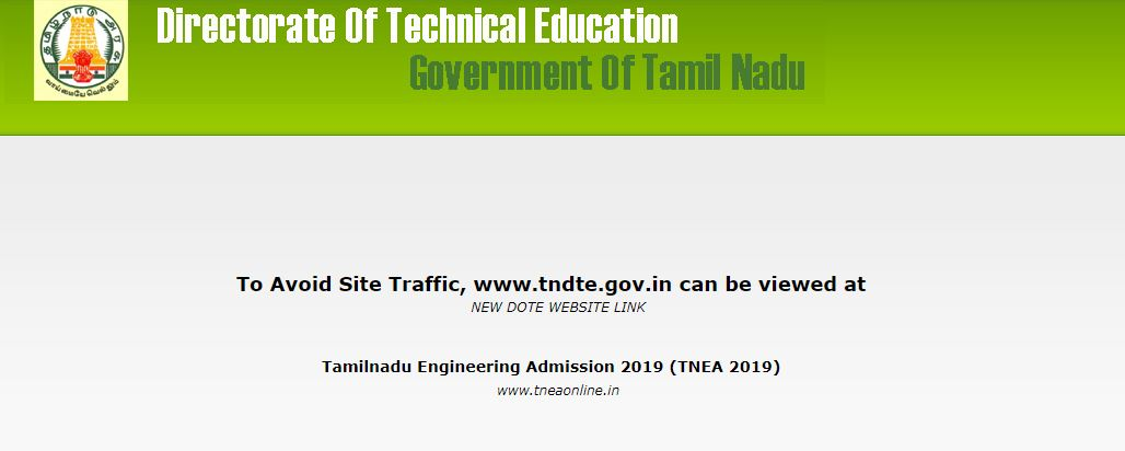 TNEA 2019 Application Form to release on May 2