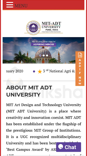 Mit School Of Fine Arts Applied Arts Admission 2020 Eligibility Process Date Fee
